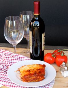 My hearty meat lasagna without Ricotta! See my secret on how it is so good, thick and hearty!