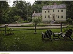 FARMHOUSE – vintage early american farmhouse in historic new england at 415 chopps cross road, in woolwich, maine 04579.