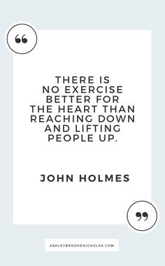 Easy ways to give back to your community + inspirational quotes about giving back including these wise words from John Holmes for sponsored by Best Inspirational Quotes, Great Quotes, Me Quotes, Motivational Quotes, Quotes To Live By Wise, Motivational Thoughts, Work Quotes, Giving Back Quotes, Community Quotes