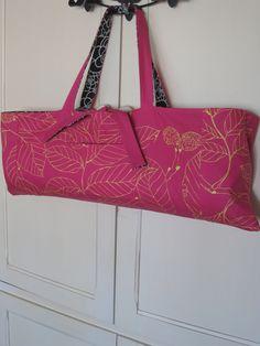 Reversible Yoga Mat Bag. $54,00, via Etsy.