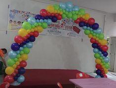 Balloon Arch Diy, Arches, Bliss, Balloons, Rainbow, Flat, Rain Bow, Globes, Rainbows