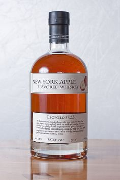 NY Apple Whiskey...hmm do I have to go to NY to have this?