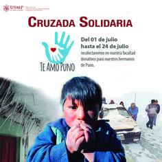 #TeAmoPuno | Que el frío no congele tu corazón. Únete a la cruzada solidaria en beneficio de los damnificados de las heladas registradas en Puno. Conoce qué puedes donar haciendo click en la imagen.