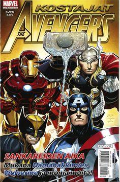 Kostajat nro 1/2011. #sarjakuvalehti #marvel #avengers #egmont #sarjakuva #sarjis