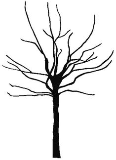 Bare tree coloring page Leaf Coloring Page, Fall Coloring Pages, Adult Coloring Pages, Coloring Sheets, Oak Tree Silhouette, Silhouette Clip Art, Christmas Tree Outline, Red Maple Tree, Tree Clipart