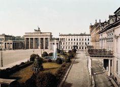 Berlin, Lucien Levy, Pariser Platz, um 1890.