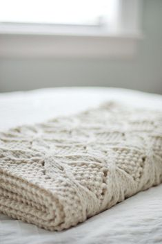 Umaro blanket by Jared Flood on Brooklyn Tweed