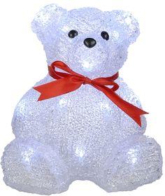 Nallebjörn dekorationsbelysning med 16 LED-lampor. Julbelysning för utomhusbruk (IP44), 3501704