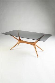tapio wirkkala ~ occasional table for asko, finland, 1958 Vintage Furniture Design, Modern Furniture, Home Furniture, Cool Tables, Nordic Design, Home Decor Kitchen, Modern Decor, Home Furnishings, Decoration