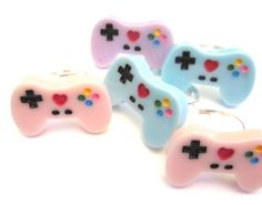 Game Controller Rings Kawaii Controller Gamer Girl Jewelry