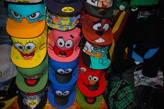 Disney Caps! :)) CUUUTEE!!!