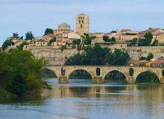Río Duero a su paso por Zamora