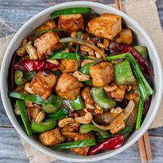 recipe by woon.heng | Quick & Easy Recipe | The Feedfeed Tofu Recipes, Vegan Dinner Recipes, Vegan Snacks, Vegan Dinners, Asian Recipes, Healthy Recipes, Ethnic Recipes, Healthy Food, Weeknight Dinners