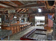 Old saloon man cave