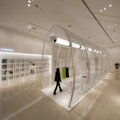 Le Ciel Bleu Store in Osaka, Japan by   Noriyuki Otsuka