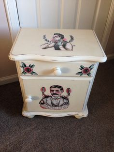 Sailor Jerry Quyen Dinh Upcycled Bedside Cabinet