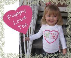 Puppy Love Tee - Peek-a-Boo Pattern Shop
