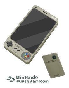 Concept de smartphone Nintendo par Hocori.