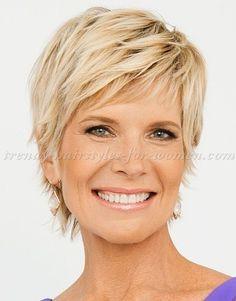 Peinados cortos para mujeres mayores de 50 años! - Cortes De Pelo!