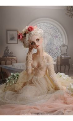 Trinity Doll - Blanc Printemps ; Elysia - LE10|DOLKSTATION - Ball Jointed Dolls Shop - Shop of BJD Dolls