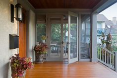 Double Doors Porch Design Ideas, Pictures, Remodel and Decor