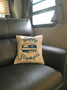 Glamping - cushion cover and table setting canvas corp