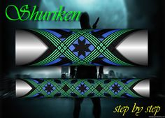 Shuriken step by step Custom Rod Building Cross Wrap Pattern Facebook Page - Ademir Romano