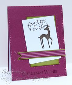 Snowy Moose Creations Stampin Up Dasher