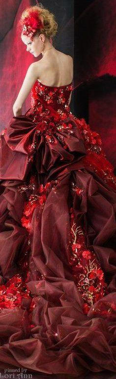 robe de réception !!! La précieuse élégance !