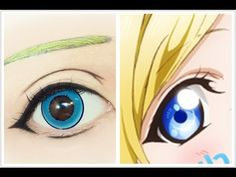 Tutorial : Anime Eye Makeup 216 • Ayase Eli