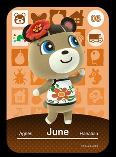 Custom Animal Crossing Welcome amiibo cards These are perfect for fans of the animal crossing series. These custom made amiibo cards use the data from the welcome amiibo card series. Animal Crossing Characters, Animal Crossing Villagers, Animal Crossing Game, Acnl Villagers, Game Themes, Party Themes, Acnl Amiibo Cards, Animal Crossing Welcome Amiibo, Folk