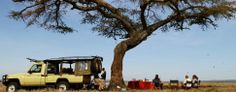 Lunch with a difference at Ekorian's Mugie Camp