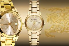 Ladies' Burberry Watch - 3 Colours!