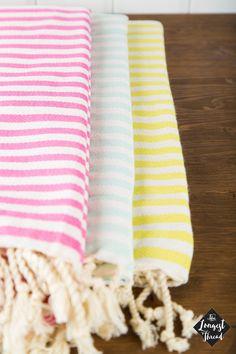New Striped Towel Turkish Towel Striped Peshtemal Beach