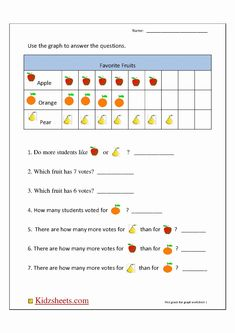 Bar Graph Worksheets Best Of Blank Bar Graph First Grade Picture Graph Worksheets, Graphing Worksheets, 1st Grade Math Worksheets, Printable Math Worksheets, Reading Worksheets, Teacher Worksheets, Preschool Worksheets, Free Printable, Graphing First Grade
