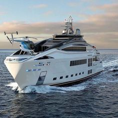 Yacht Design, Super Yachts, Yachting Club, Photographie New York, Bateau Yacht, Luxury Helicopter, Private Yacht, Yacht Boat, Speed Boats