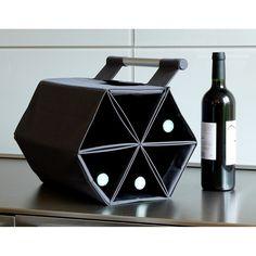 ZEBAG Wine Carry Bag in Black