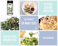 Epicure Recipes, Ww Recipes, Meal Ideas, Food Ideas, Clean Eating, Healthy Eating, Caesar Salad, Main Meals, Food For Thought