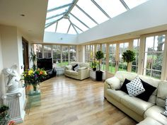 glass conservatory house plans - Google Search