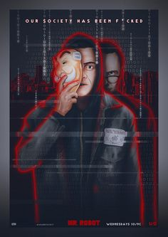 Mr. Robot - season_2.0 - PosterSpy Entry by sahinduezguen.deviantart.com on…