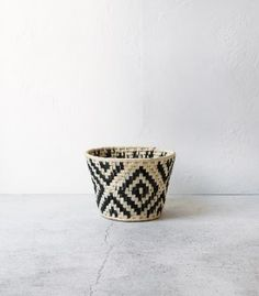 Round Woven Basket / Medium