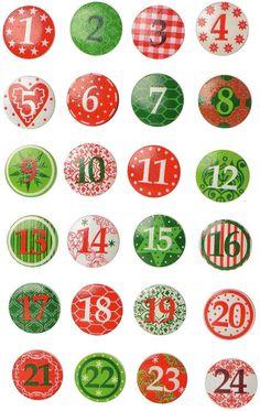 Etsy Christmas, Christmas Gift Tags, Christmas Dog, Christmas Tree Advent Calendar, Diy Advent Calendar, Christmas Decorations To Make, Holiday Crafts, Christmas Drawing, Christmas Printables