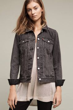 28 Denim Jackets You Can Try This Fall/Winter 2016 | Style Spacez