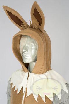 Eevee Vest, Costume, Hoodie, Vest, Jacket, Hand-made, Pokemon. $119.00, via Etsy.