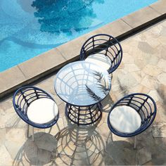 Echo Outdoor Dining Set, 4-Piece by Ceets