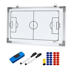 2-SIDED MAGNETIC DRY ERASE BOARD
