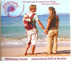 ErgoBABY BABY Carrier Instrucions DVD & Booklet Only, Htf Very Good
