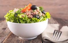 BEST: Lean meat and seafood http://www.womenshealthmag.com/food/best-worst-salad-toppings/slide/3