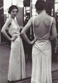 Alfred Eisenstaedt- Robe du soir Chanel, années 1930