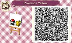animal crossing new leaf qr codes pokemon - Google Search